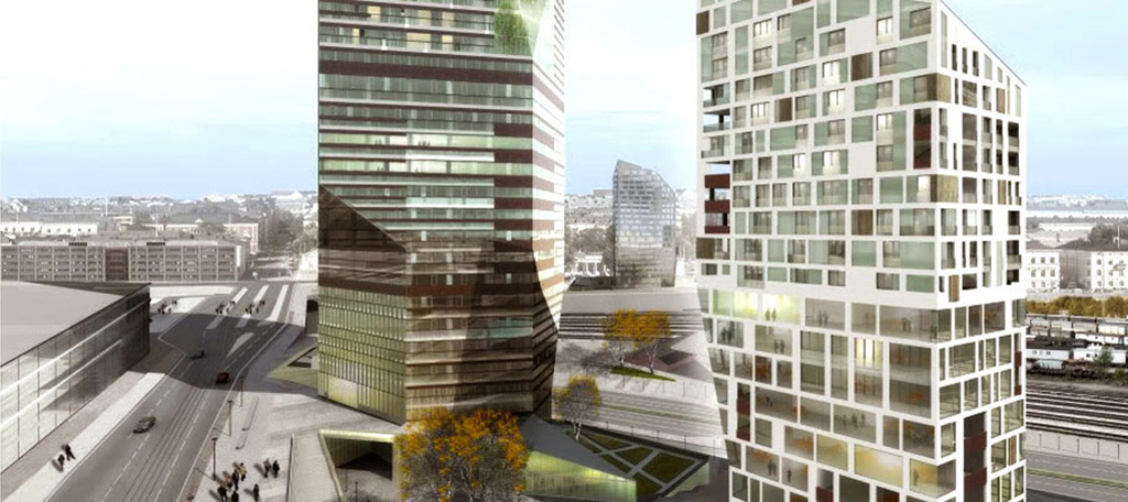 Cino Zucchi Architects - One Works Central Pasila - Helsinki, Finlandia